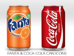 Cola, Fanta of Heineken