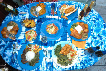 Afrikaans buffet (3 hoofd gerechten)