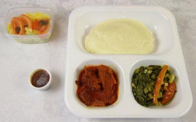 Rundvlees met nsima