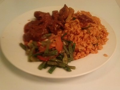 Rund in pittige saus (Zuid-Afrika) - Beef in hot sauce
